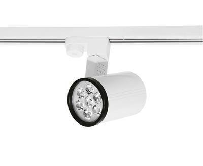led lampe leuchte strahler deckenleuchte f r 1 phasen schienensysteme 7w wei ebay. Black Bedroom Furniture Sets. Home Design Ideas
