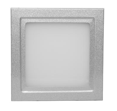 led panel wandleuchte deckenleuchte rgb 10x10 cm 24v 100 lumen ebay. Black Bedroom Furniture Sets. Home Design Ideas