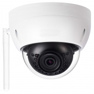 GOLIATH IP WLAN Dome Kamera | 4 MP | 2.8 mm | Micro SD Speicher | 30m IR | App | IP65 | WiFi Serie