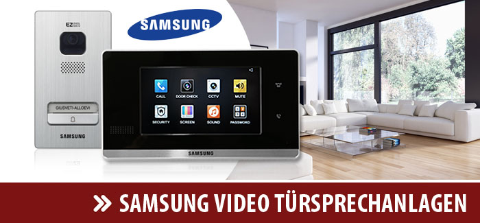 Samsung Video Türsprechanlagen